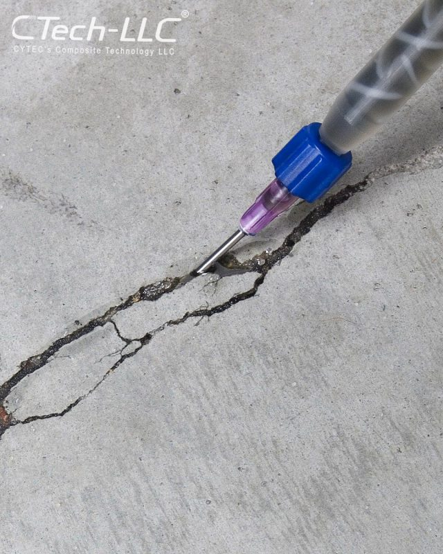 concrete crack repair-CTech-LLC