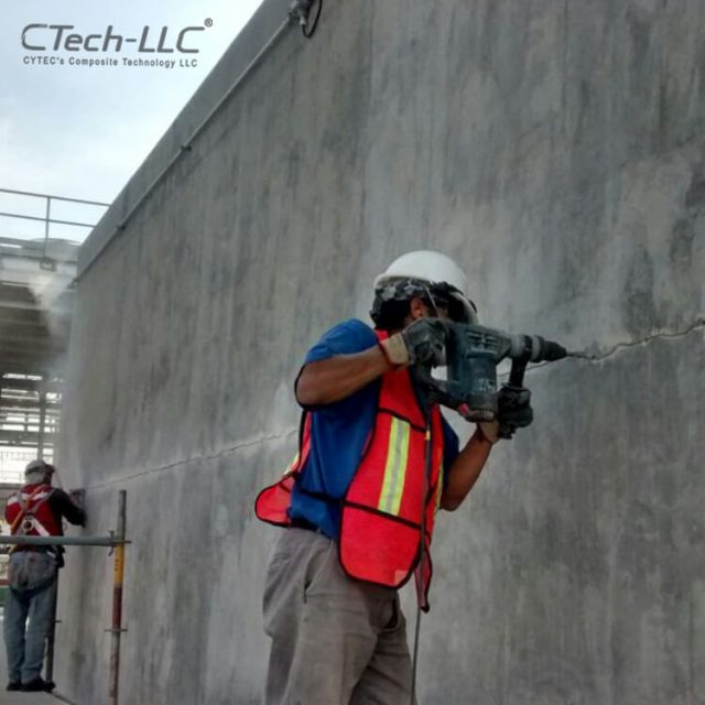 Concrete-wall-repairing-injection-System-CTech-LLC