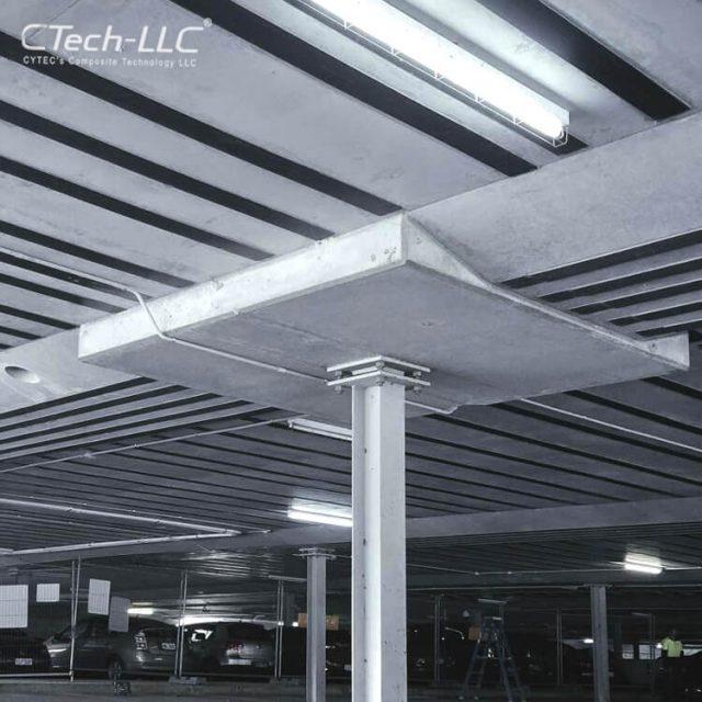 Slab-Concrete-Strengthening-using-carbon-laminate-CTech-LLC