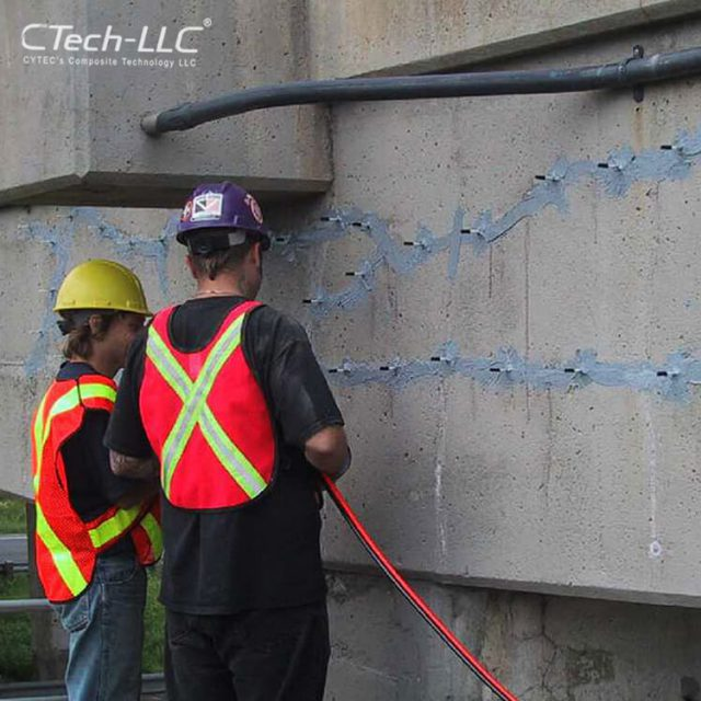 crack-Injection-of-bridge-concrete-trust-CTech-LLC