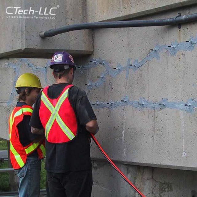 crack-Injection-of-bridge-concrete-trust-CTech-LLC