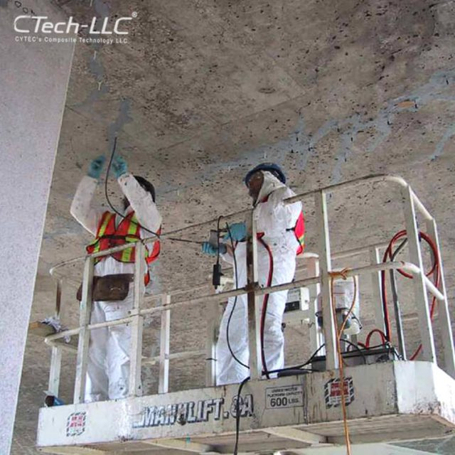 damaged-Concrete-repair-with-injecting-system-CTech-LLC