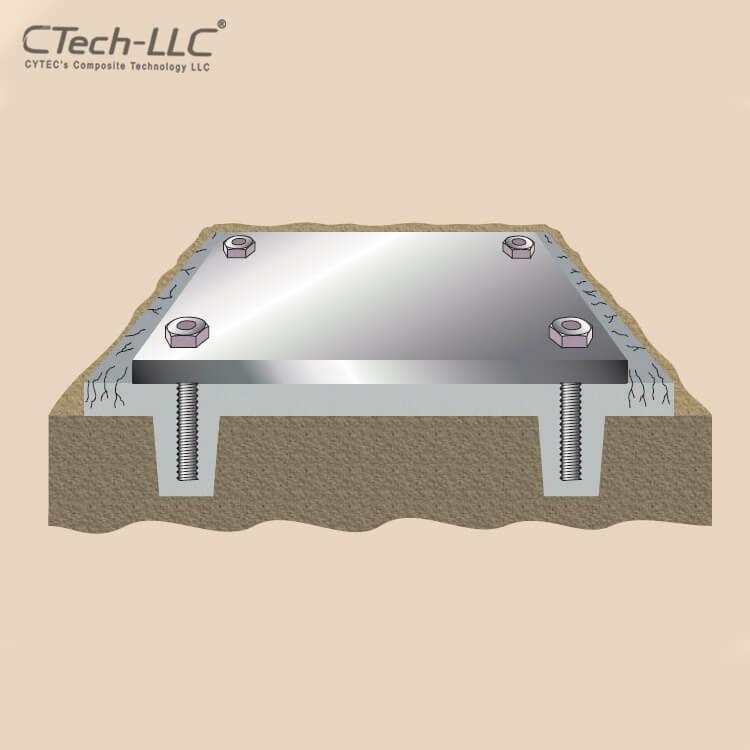 CTech-LLC-Epoxy-Grouting-steel-baseplates