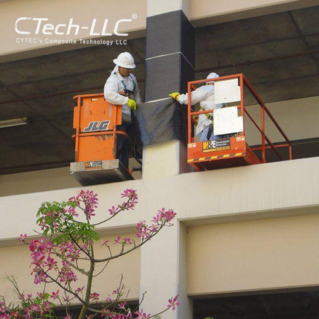 CTech-LLC-Fiber-Reinforced-Polymer-(FRP)-to-Strengthen-Existing-Columns