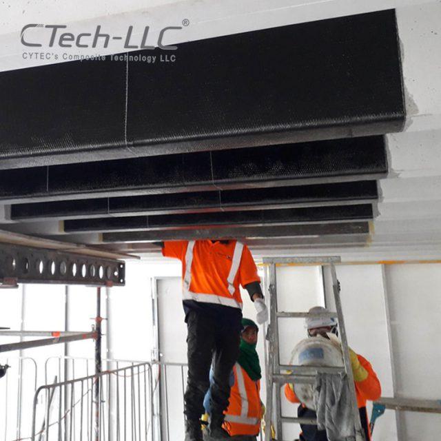 CTech-LLC-Seismic-Retrofit-of-beam-with-FRP-composite-system