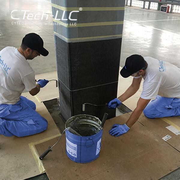 CTech-LLC-Seismic-Retrofit-of-column-with-FRP-composite-system