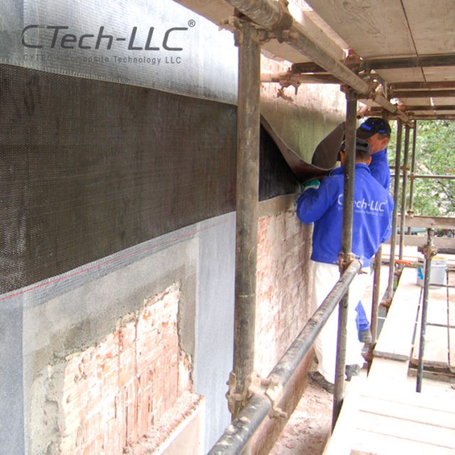 CTech-LLC-Seismic-Retrofit-of-wall-with-FRP-composite-system