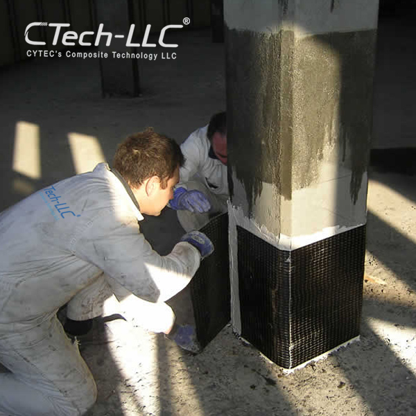 CTech-LLC-Structural-upgrading-of-columns-with-CFRP-wraps