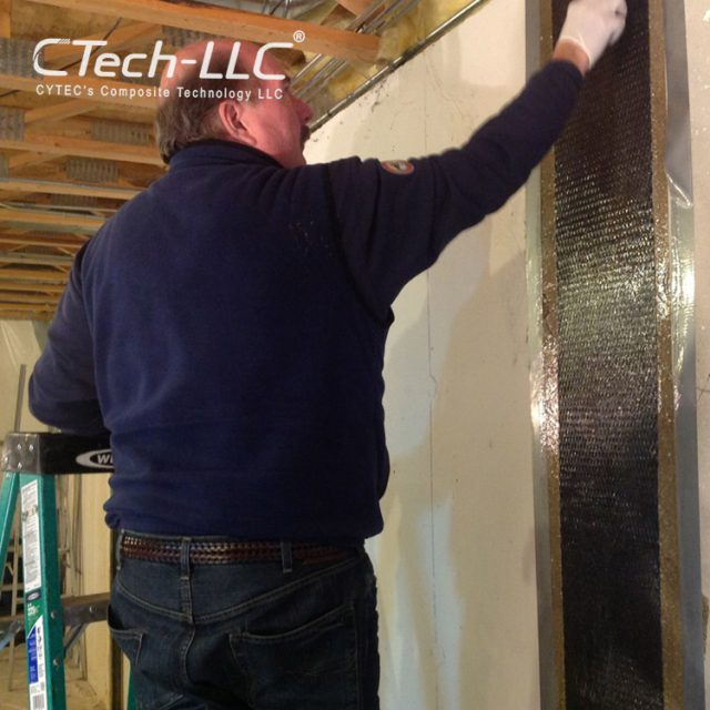 CTech-LLC-Using-Carbon-Fiber-for-Structural-wall-Repair