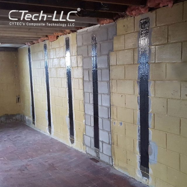 CTech-LLC-strengthening-of-walls-using-cfrp
