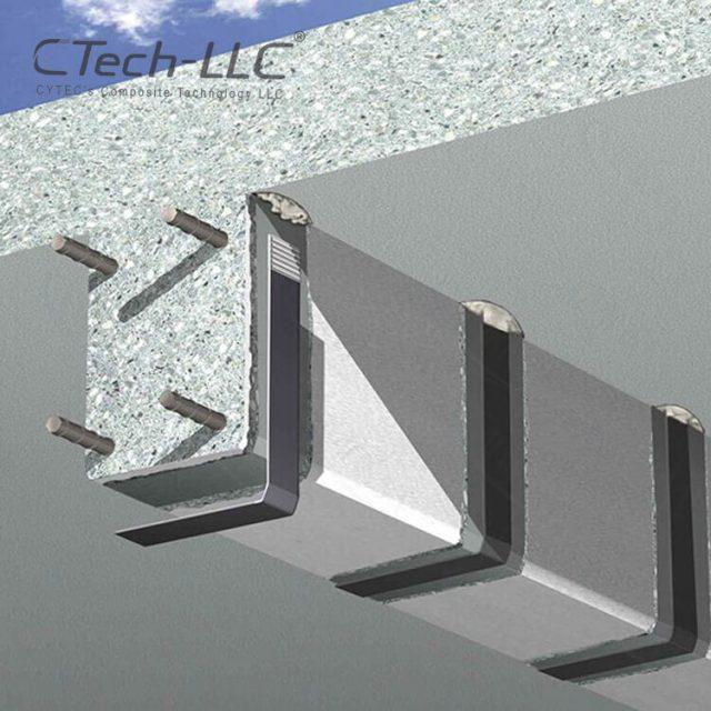 externally-applied-L-shaped -CFRP-laminate-CTech-LLC